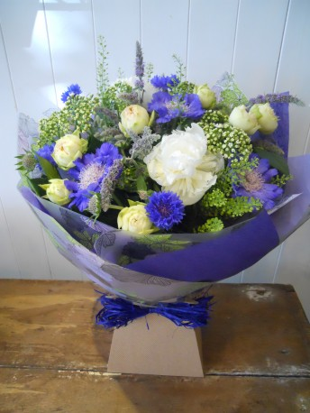 Country blues bouquet