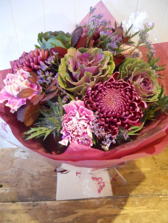 Deep pink bouquet