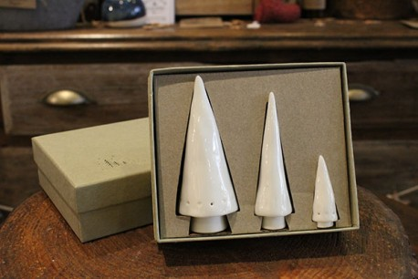 Porcelain Christmas Tree Gift Box