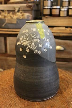 Ceramic Bee Vase