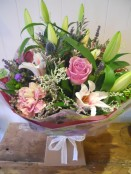 Country pinks bouquet
