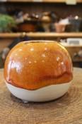 Handmade Ceramic Orb Vase
