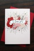 'I Love You' card